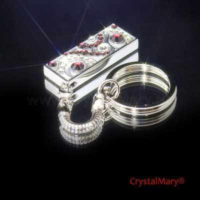 Флеш карта c кристаллами Swarovski 4Гб  www.crystalmary.ru