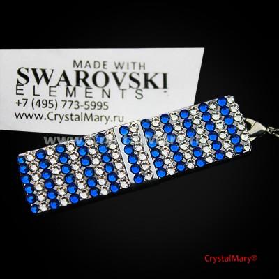 Флешка с кристаллами swarovski www.crystalmary.ru