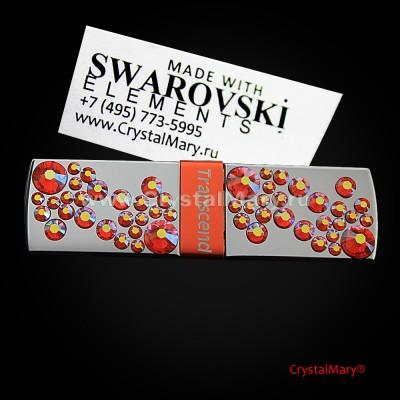 Флешка Transcend Swarowski www.crystalmary.ru