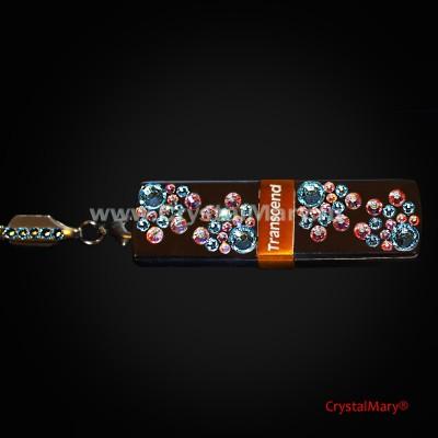 Флешка: Небесные ласточки  www.crystalmary.ru