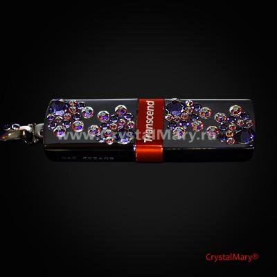 Флеш: Сиреневая нежность  www.crystalmary.ru