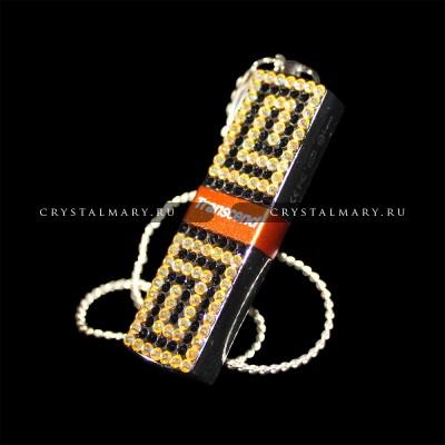 Ювелирные флешки: Transcend 16Gb с кристаллами Swarovski ( Австрия ) www.crystalmary.ru