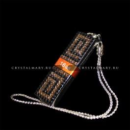 Флешки со стразами: Transcend 16Gb с кристаллами Swarovski (Австрия)  www.crystalmary.ru