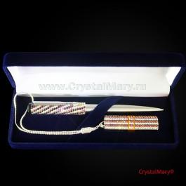 Набор ручка и флешка 16ГБ Вулкан и Кристал  www.crystalmary.ru