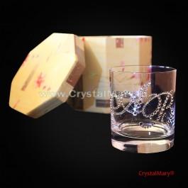Бокалы с инициалами (на заказ)  www.crystalmary.ru