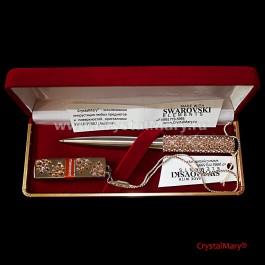Подарочный набор: цвет Light Peach  www.crystalmary.ru