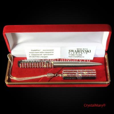 Женский подарочный набор Parker: Light Siam+CrystalAB www.crystalmary.ru