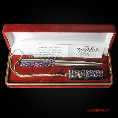 Подарочный набор: ручка Паркер с флеш картой www.crystalmary.ru