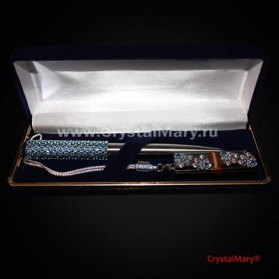 Подарочный набор : Небесное прикосновение  www.crystalmary.ru