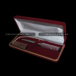 "Набор ручка флешка ""Vintage Rose""  www.crystalmary.ru"