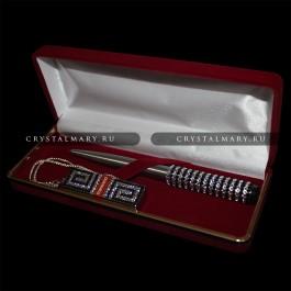 Набор: Флешка ручка  www.crystalmary.ru