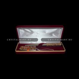 Набор ручка и флешка: Роскошь золота  www.crystalmary.ru