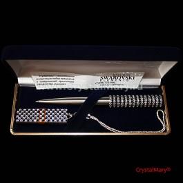 Подарочный набор: Parker с флеш картой 16гб  www.crystalmary.ru