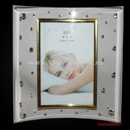 Рамка для фотографий  www.crystalmary.ru