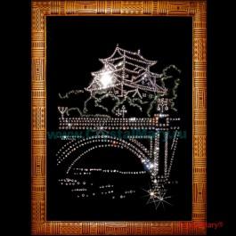 Картина из страз Swarovski: Восточная Ночь  www.crystalmary.ru