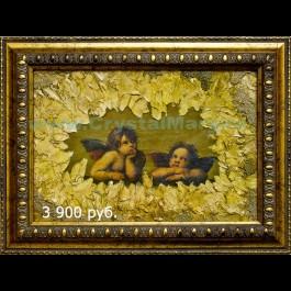 Фреска Ангелы 30х20 (01085) www.crystalmary.ru
