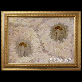 Ангелы в облаках (01093) www.crystalmary.ru