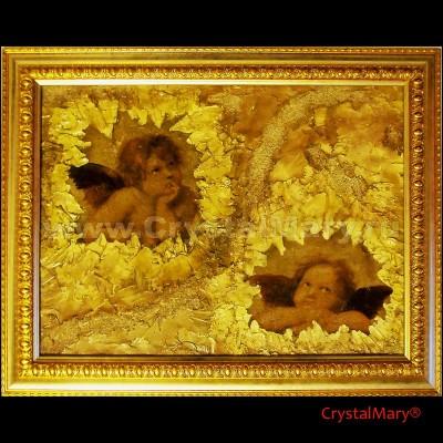 Фреска Ангелы (01095) www.crystalmary.ru