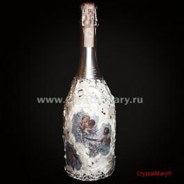 Асти Мартини с декором  www.crystalmary.ru