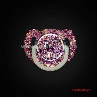 Соска резиновая AVENT с кристаллами Сваровски  www.crystalmary.ru