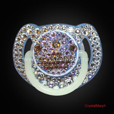 Соска детская Avent с кристаллами Swarovski (Австрия) www.crystalmary.ru