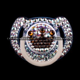 Детская соска пустышка Avent с кристаллами Swarovski (Австрия) www.crystalmary.ru