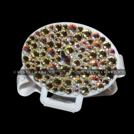 Держатель для соски со стразами Swarovski (Австрия)  www.crystalmary.ru