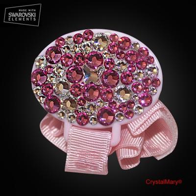 Держатель - прищепка для соски www.crystalmary.ru