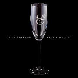 Фужеры Swarovski  www.crystalmary.ru