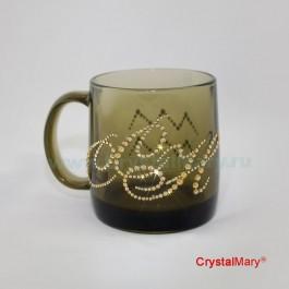 Чашка Сваровски  www.crystalmary.ru