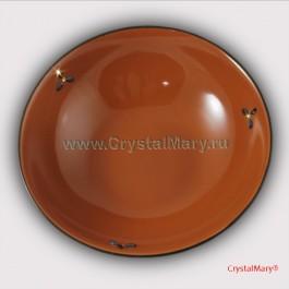 Тарелка Сваровски  www.crystalmary.ru
