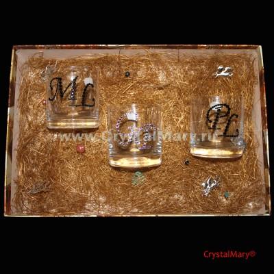 Посуда со стразами www.crystalmary.ru