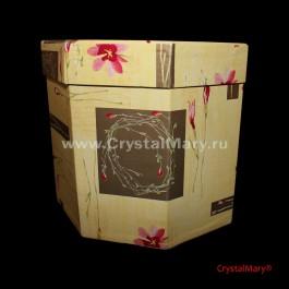 Коробка подарочная  www.crystalmary.ru