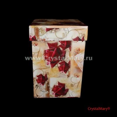 Красивая упаковка для подарка www.crystalmary.ru