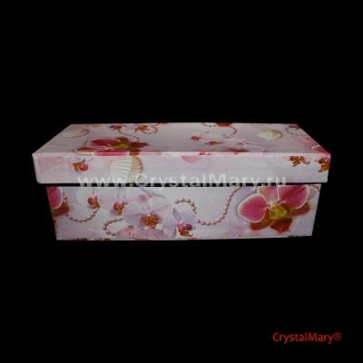 Подарочная упаковка коробки www.crystalmary.ru