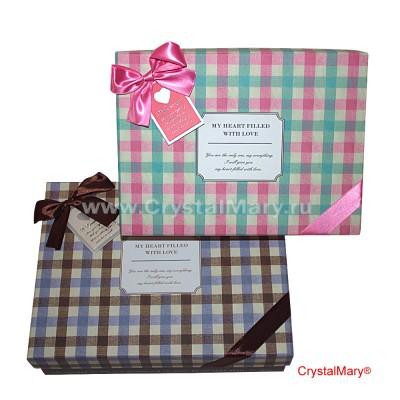 Стильные подарочные коробки  www.crystalmary.ru
