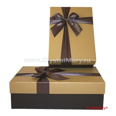 Подарочные коробки с крышкой  www.crystalmary.ru