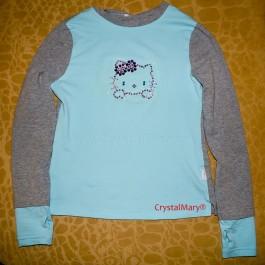 Hello Kitty футболка  www.crystalmary.ru