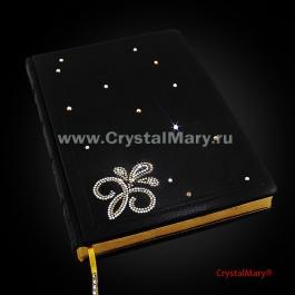 Ежедневники из кожи  www.crystalmary.ru