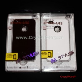 Чехол Icover для iPhone-4-4S  www.crystalmary.ru