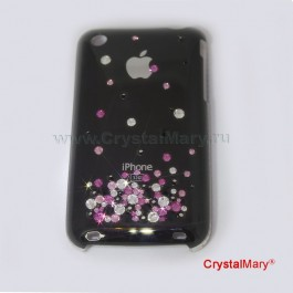 Чехол на iPhone 3G  www.crystalmary.ru