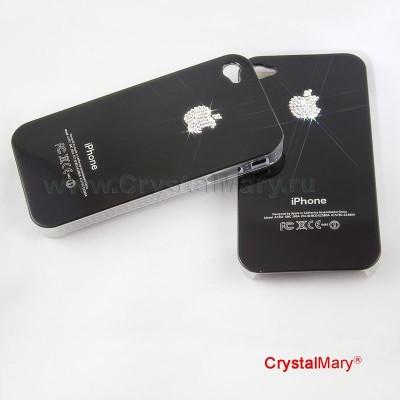 Крышка Чехол iPhone Swarovski 4G/S www.crystalmary.ru