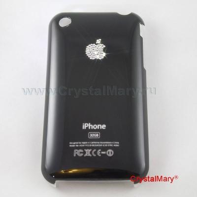 Корпус iPhone Swarovski 3G www.crystalmary.ru