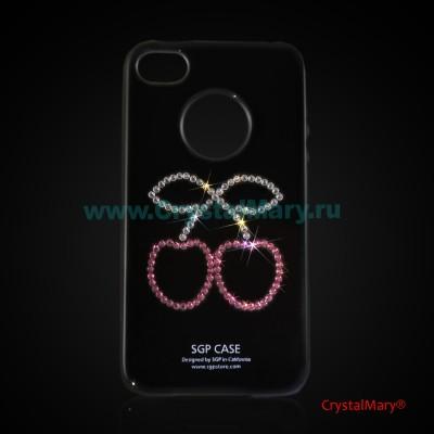 Панель iPhone: Вишенки www.crystalmary.ru
