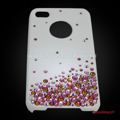 Крышка для айфон 4 www.crystalmary.ru