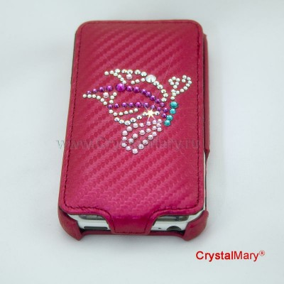Чехол на iPhone 4G www.crystalmary.ru