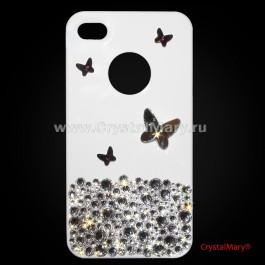 Роскошные бабочки в россыпи бриллиантов www.crystalmary.ru