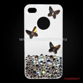 Бабочки Сваровски (Австрия)  www.crystalmary.ru