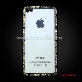 Съемная панель на айфон  www.crystalmary.ru