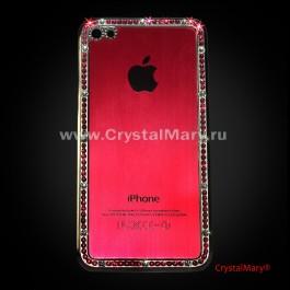 Задняя панель на айфон  www.crystalmary.ru